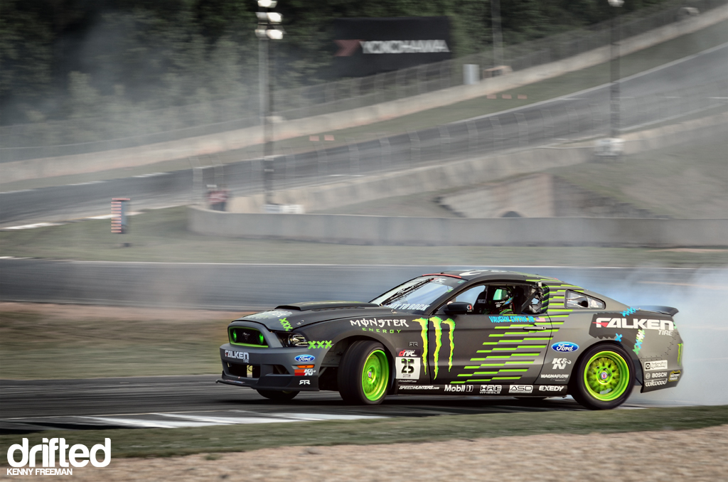 Vaughn Gittin Jr. Monster Energy Falken Tire Ford Mustang