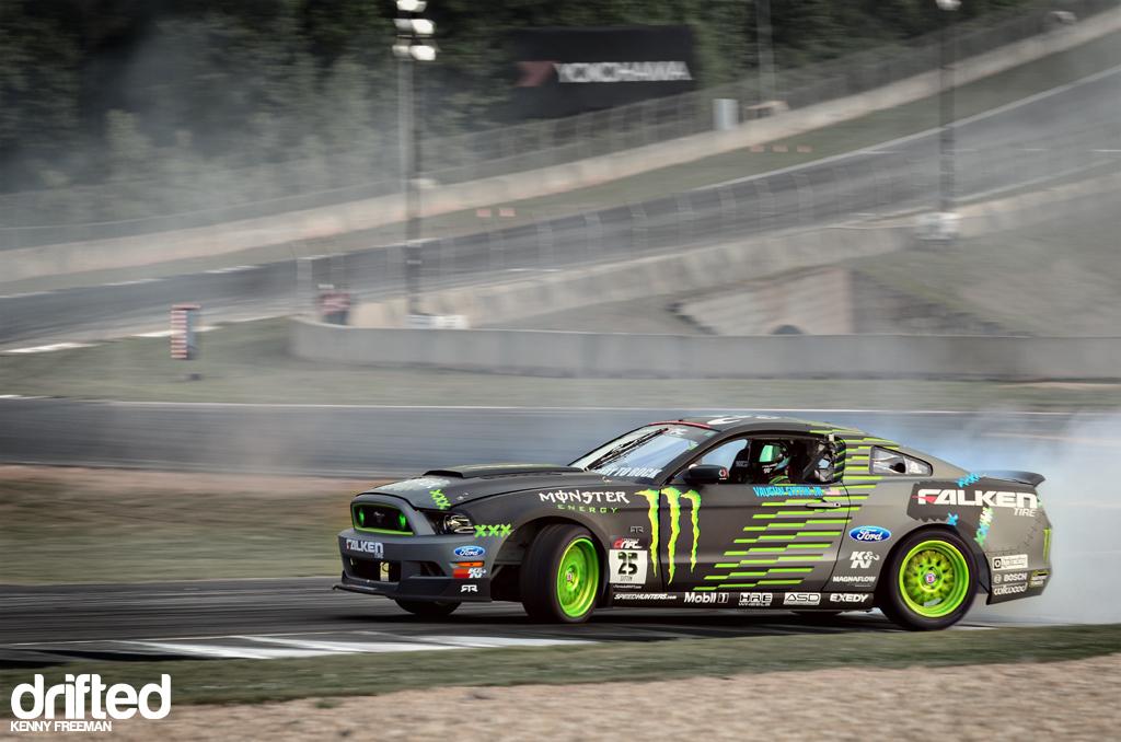 Vaughn Gittin Jr. Monster Energy Falken Tire Ford Mustang