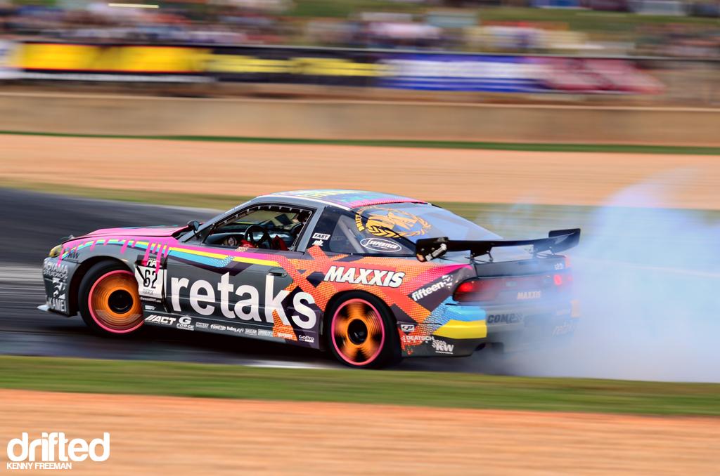 Ryan Tuerck Retaks Nissan 240LS drift