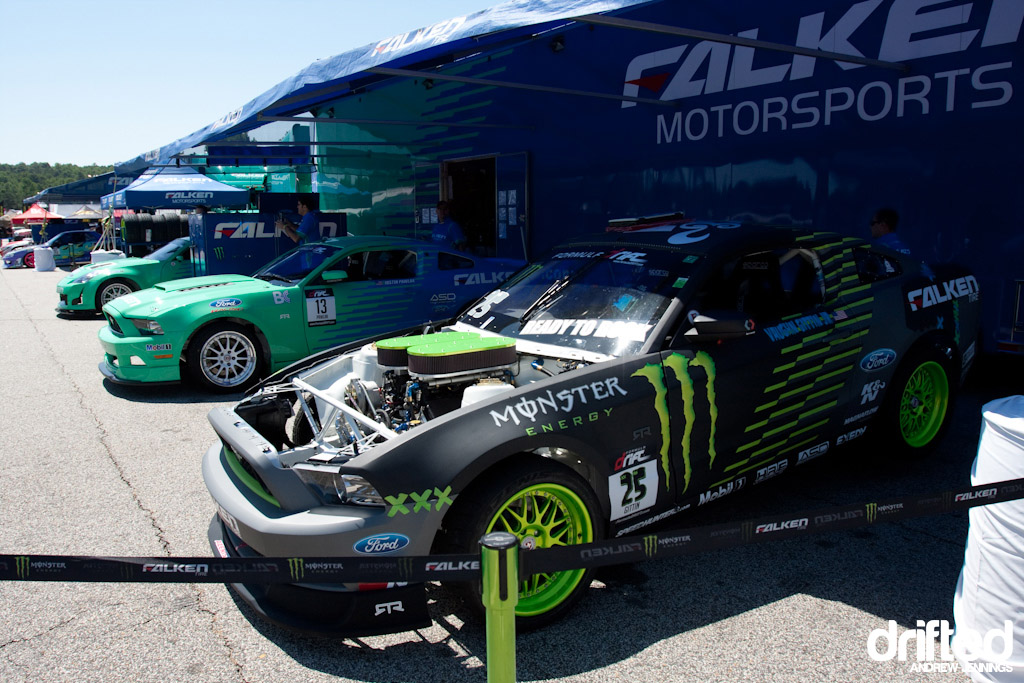 Falken Tire Ford Mustangs