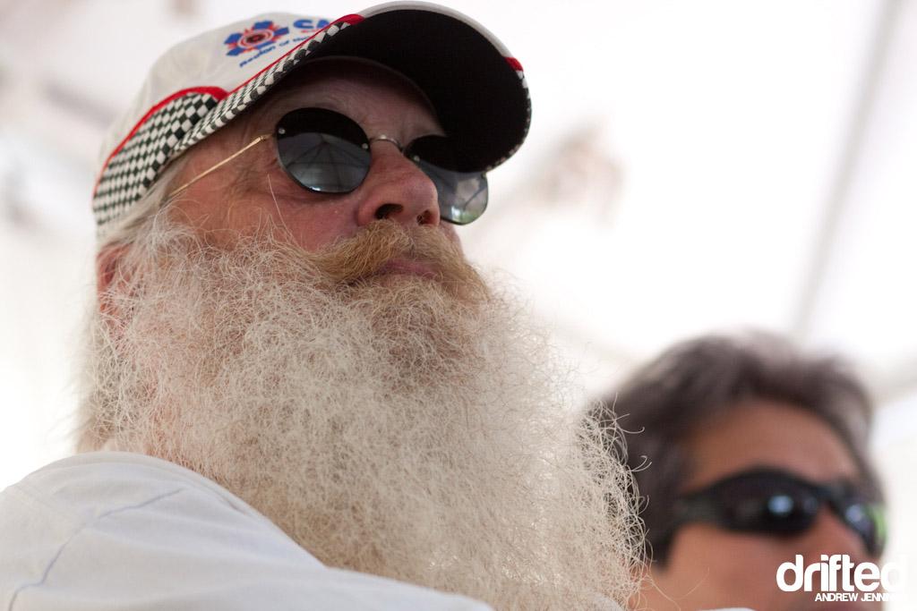 Bill Baldwin at Formula Drift Driver's Meeting