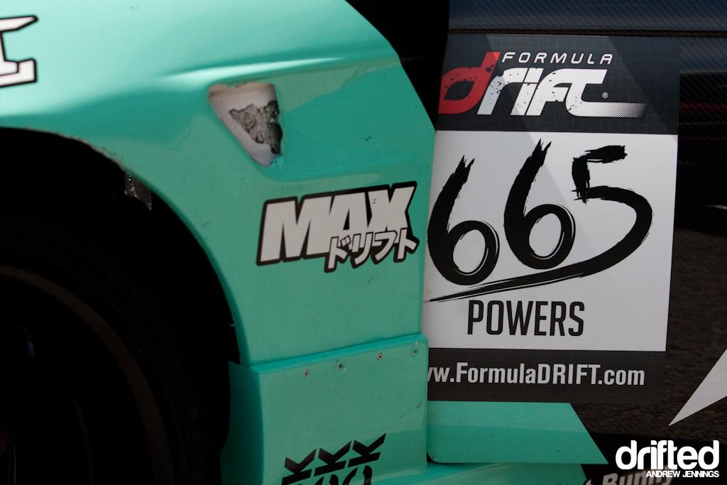Matt Powers Team Need for Speed Nissan 240SX number detail