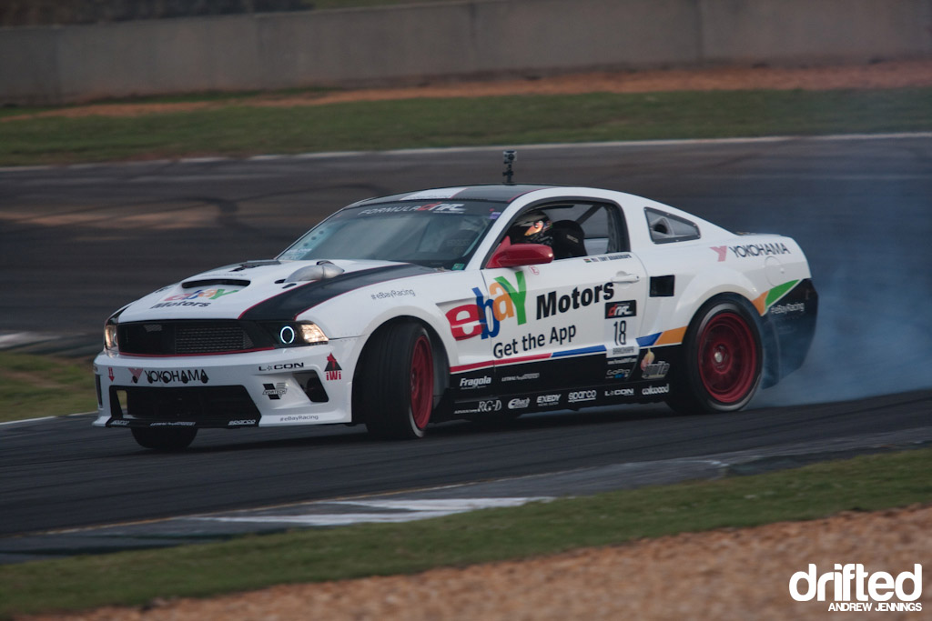 Tony Brakohiapa's Ebay Motors Racing Ford Mustang