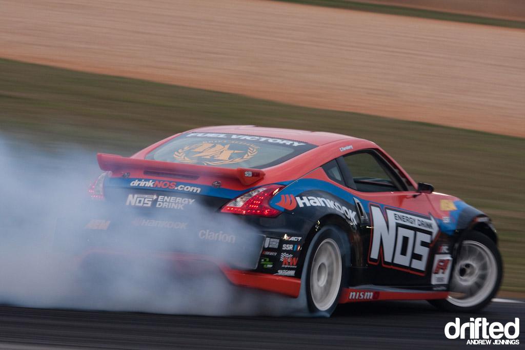 Chris Forsberg's NOS Energy Nissan 370Z