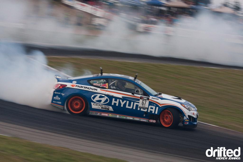 Rhys Millen's RMR Hyundai Genesis Coupe