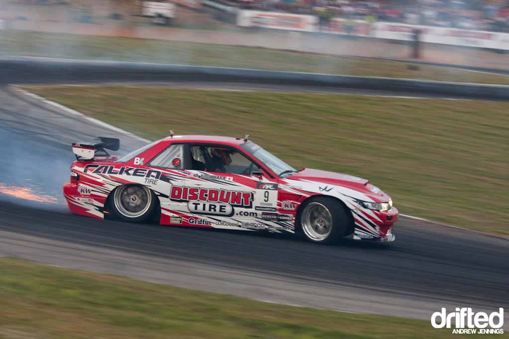 Daijiro Yoshihara's Discount Tire/ Falken Tire Nissan S13