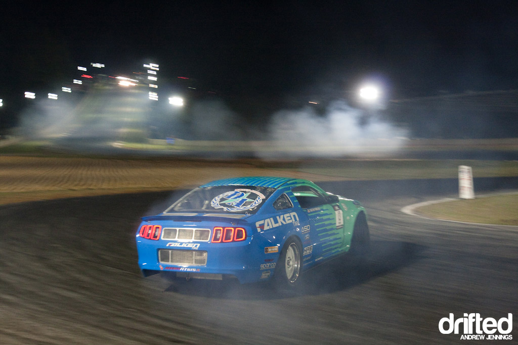 Justin Pawlak's Falken Tire Ford Mustang