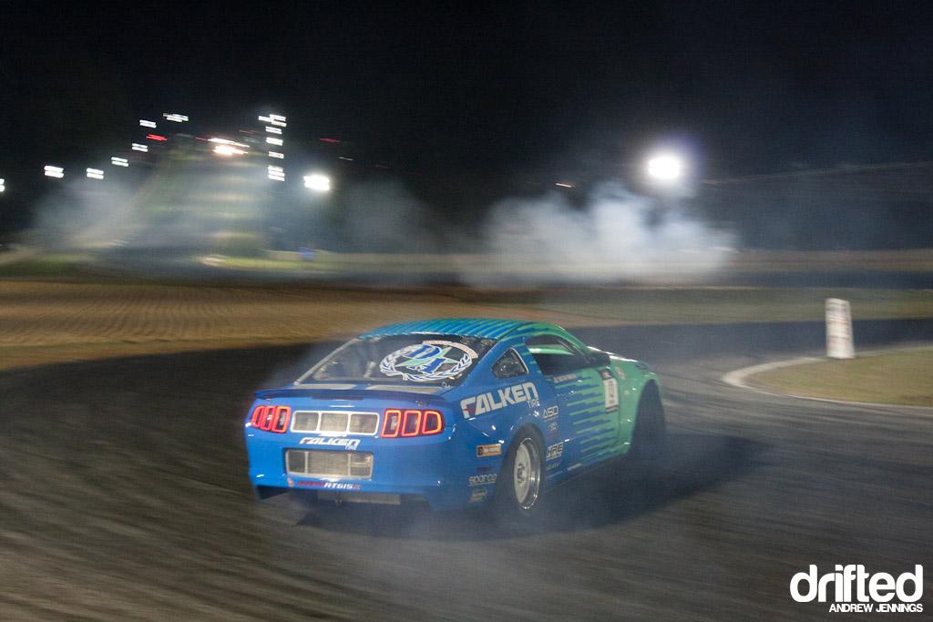 Justin Pawlak's Falken Tire Ford Mustang