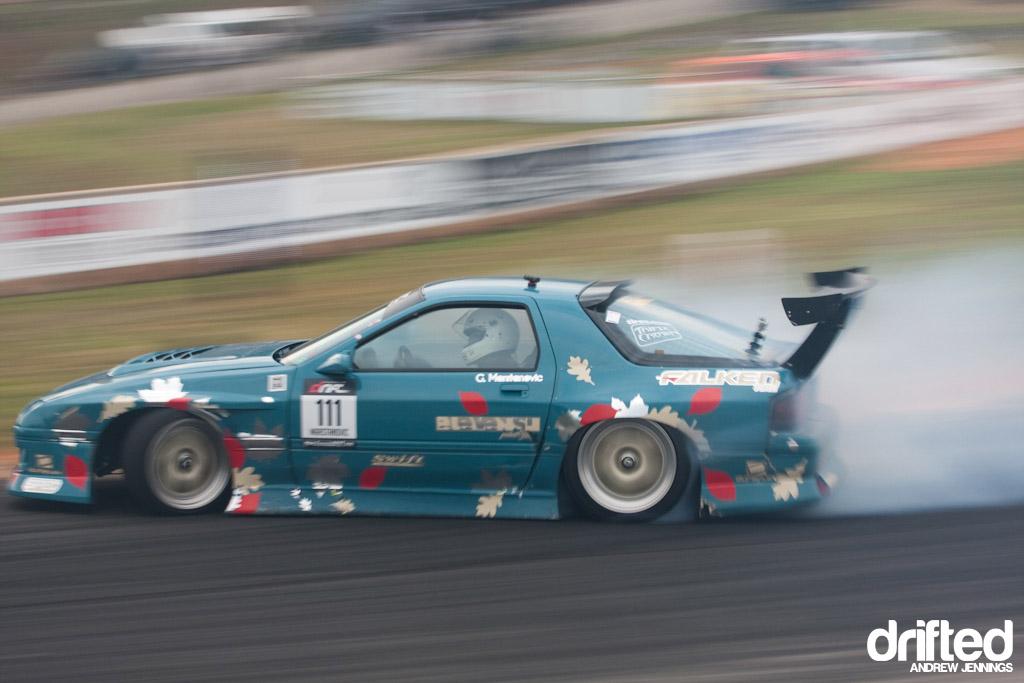 George Marstanovic's Runaway Fun Mazda RX-7