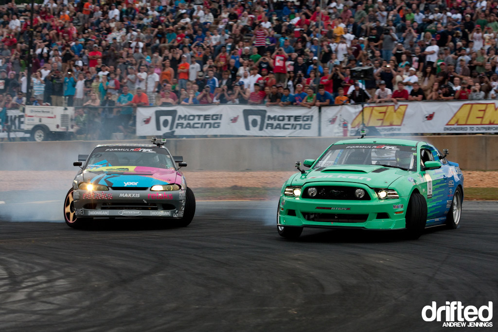 Pawlak vs. Tuerck drift battle