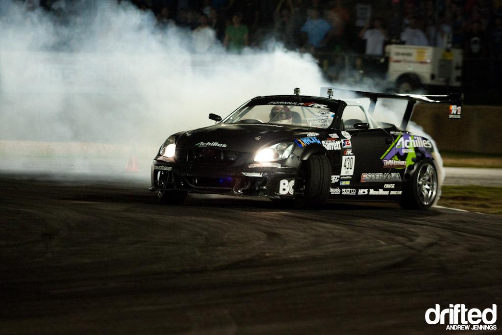 Daigo Saito Achilles Tires/Bridges Racing Lexus SC430