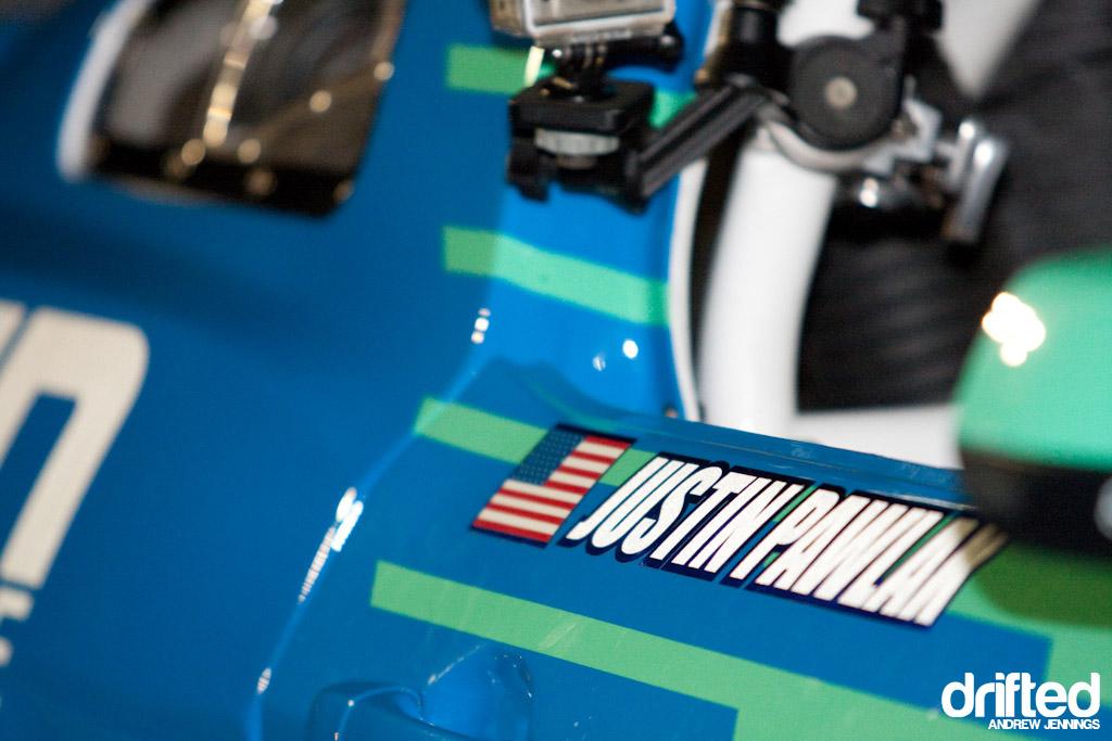 Justin Pawlak Falken Tire Ford Mustang Detail
