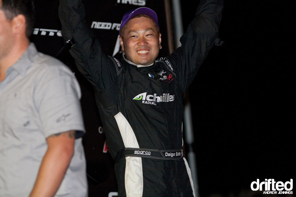 Daigo Saito 3rd place at Formula D Road Atlanta