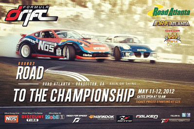 LIVESTREAM: Formula Drift 2012: Round Two: Road to the Championship