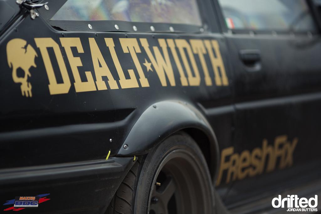 Dealt width AE86