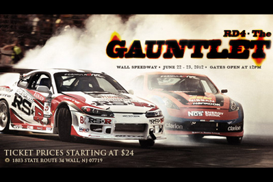 LIVESTREAM: Formula Drift 2012: Round Four: The Gauntlet