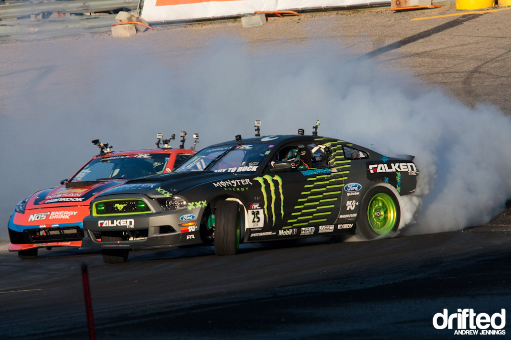 Vaughn Gittin Jr. vs. Chris Forsberg