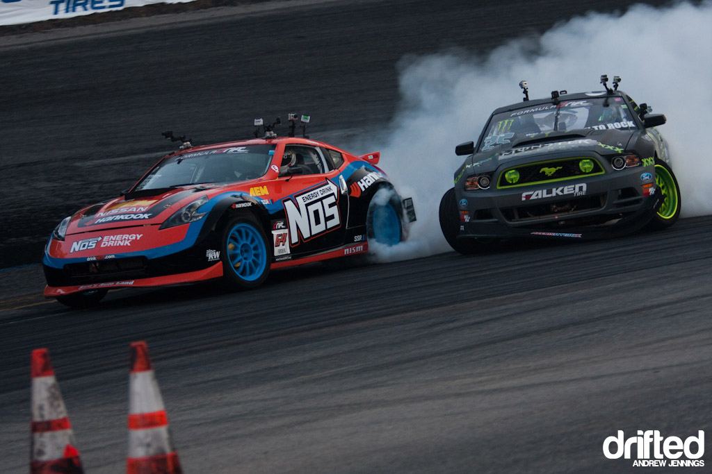 Chris Forsberg vs. Vaughn Gittin Jr.