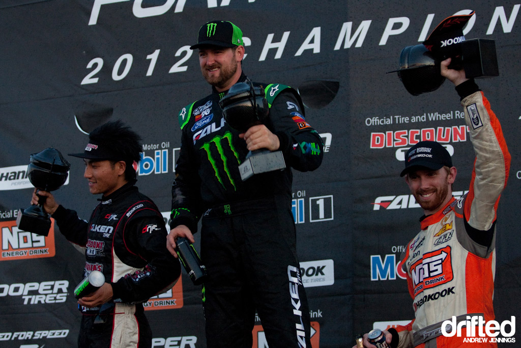 Formula D Wall NJ 2012 Podium