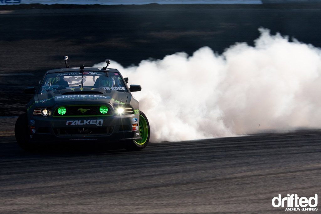 Vaughn Gittin Jr. Monster Energy/Falken Tire Ford Mustang