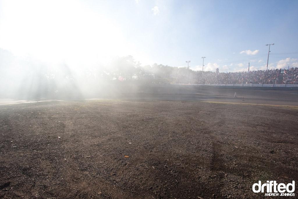 Wall Speedway view - Formula D Round 4