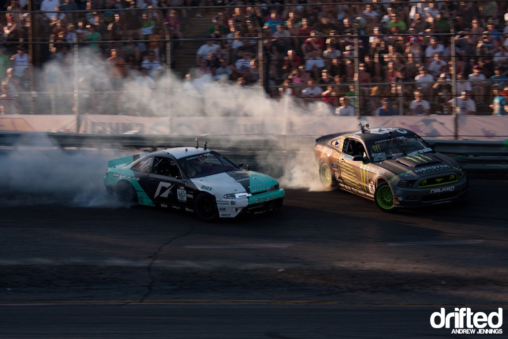Vaughn Gittin Jr. vs. Matt Powers