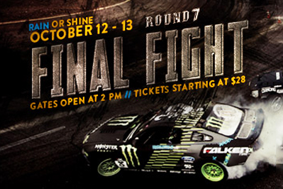LIVESTREAM: Formula Drift 2012: Round 7: Title Fight