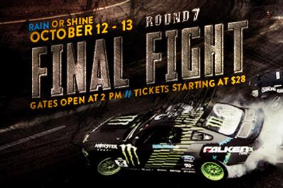 LIVESTREAM: Formula Drift 2012: Round 7: Title Fight