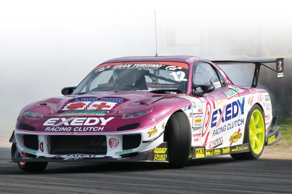 RX7 Drifting