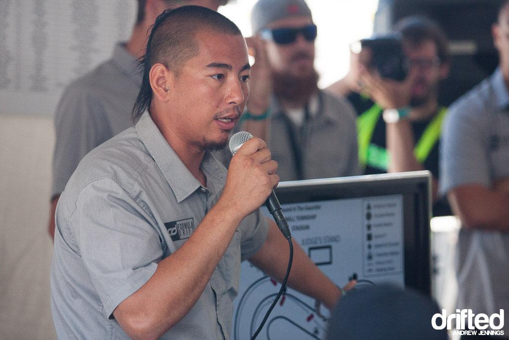 Andy Yen, judge for Formula Drift