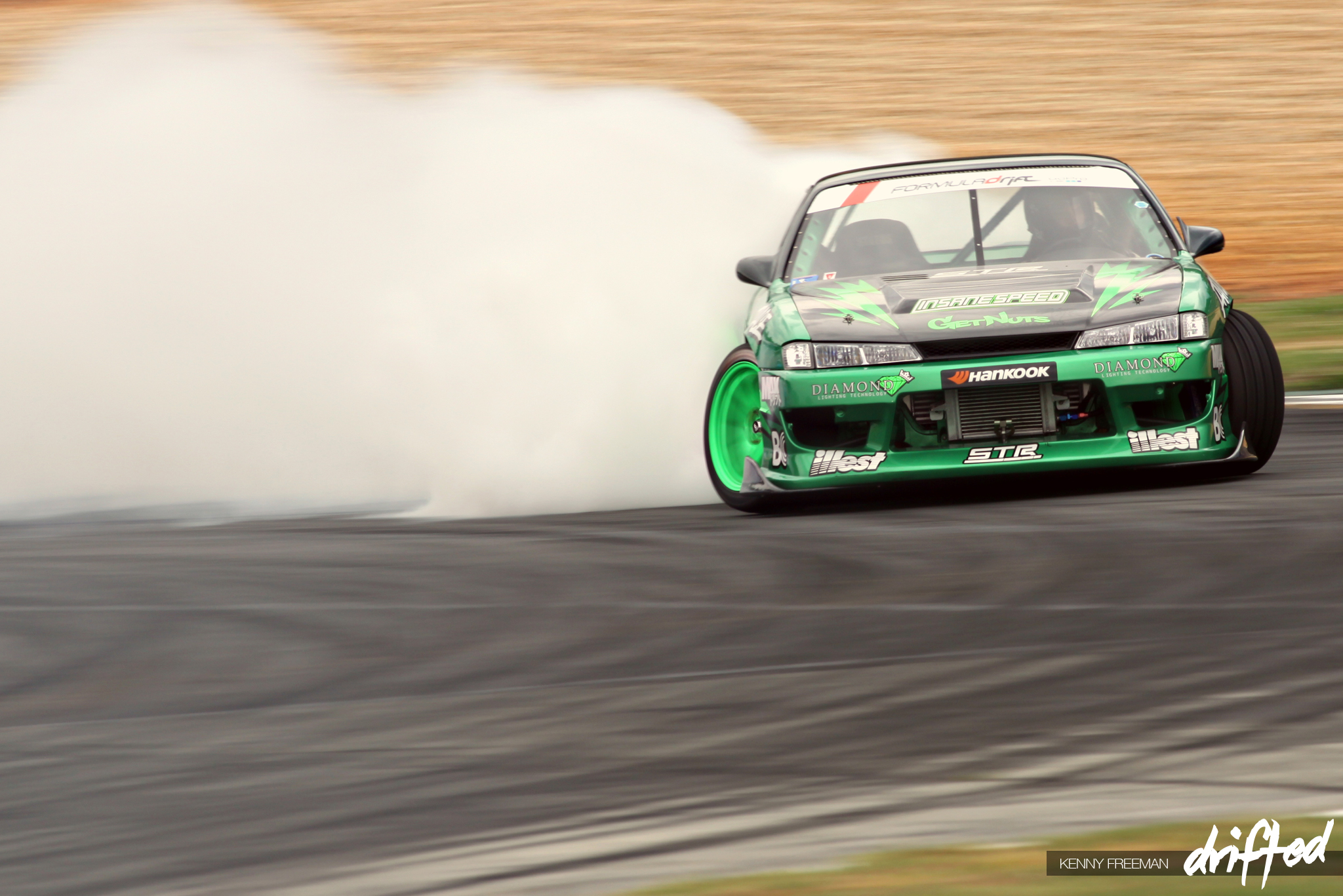 Forrest Wang Get Nuts Lab Hankook Tire STR Racing S14