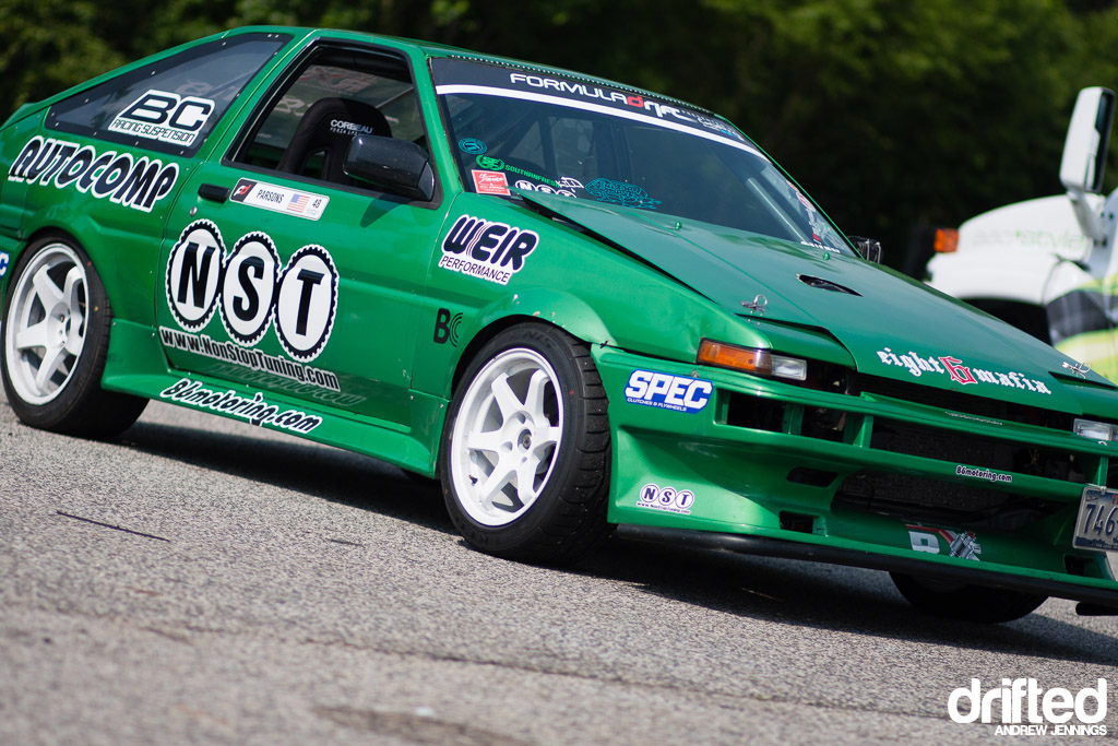 Will Parsons' AE86 Corolla