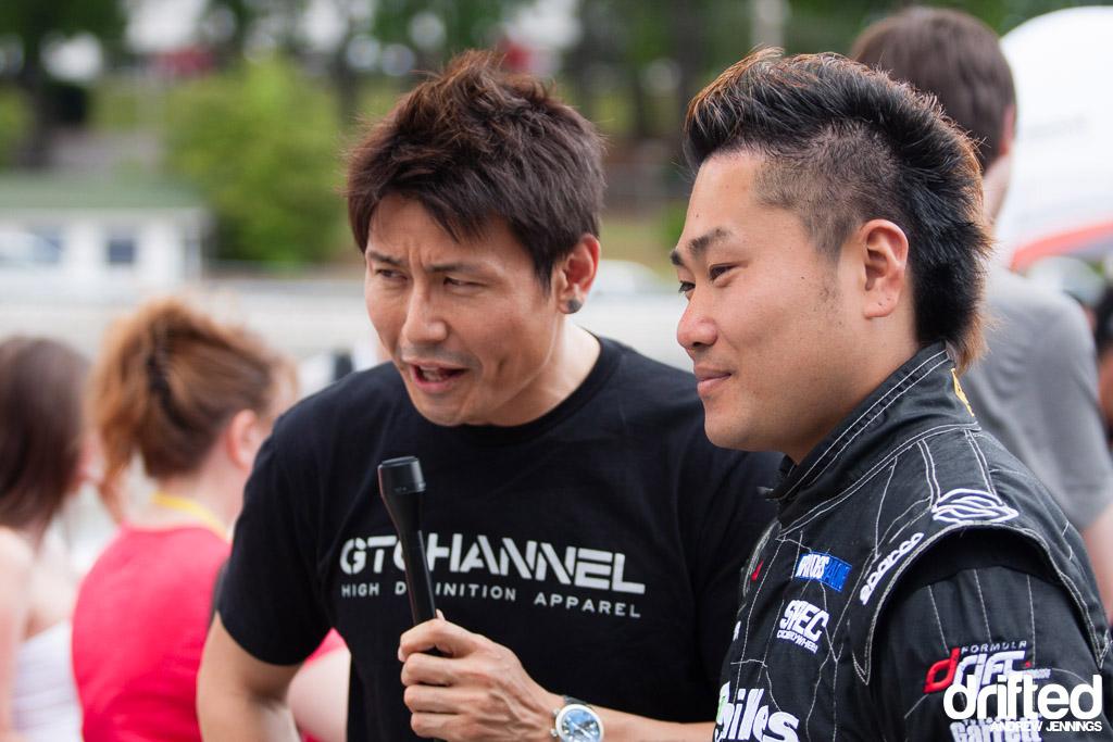 Daigo Saito media interview