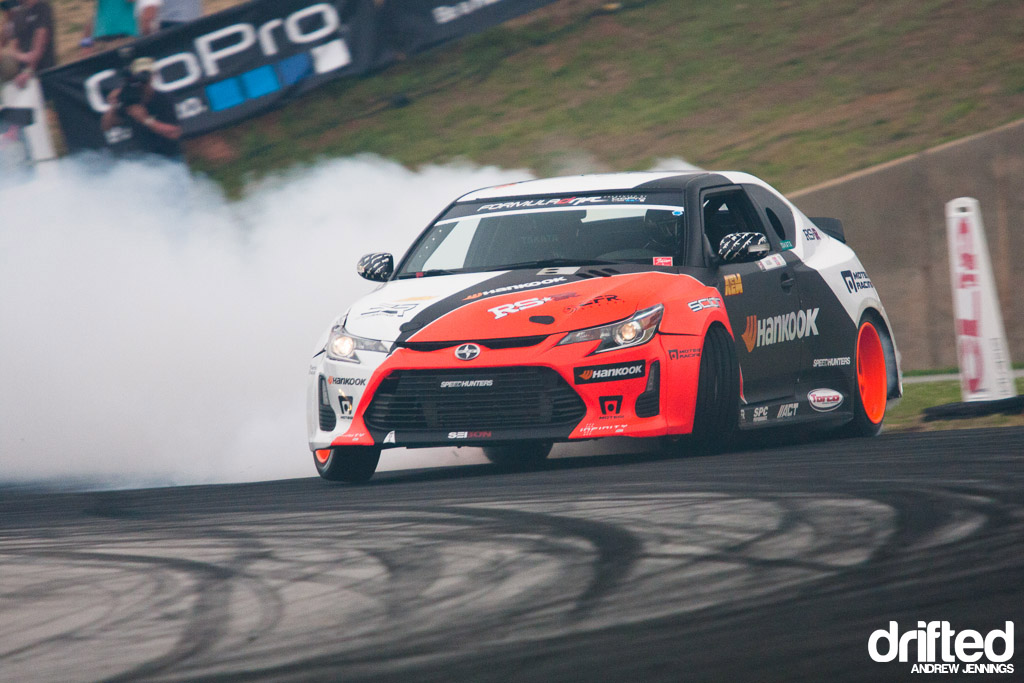 Fredric Aasbo Hankook Tire Scion tC