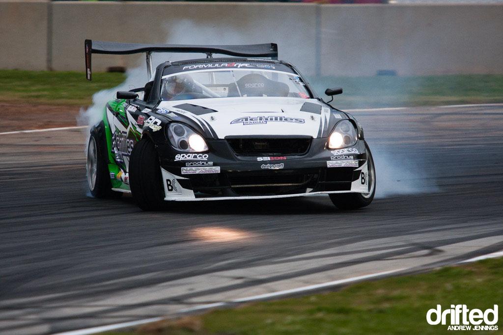 Daigo Saito Achilles Tire Lexus SC drift
