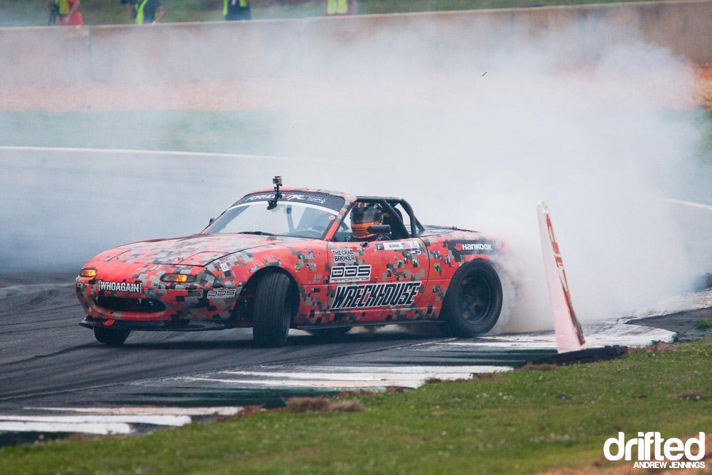 Danny George Wreckhouse Mazda Miata