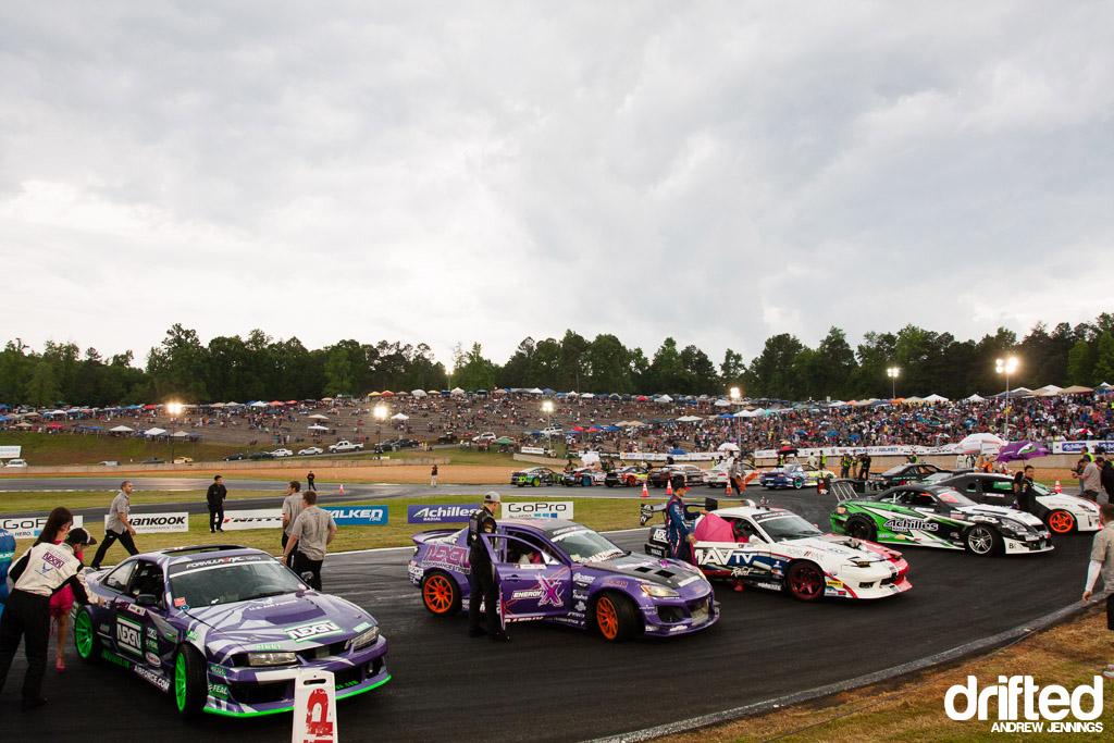 Formula Drift Road Atlanta Top 16 Opening Ceremonies