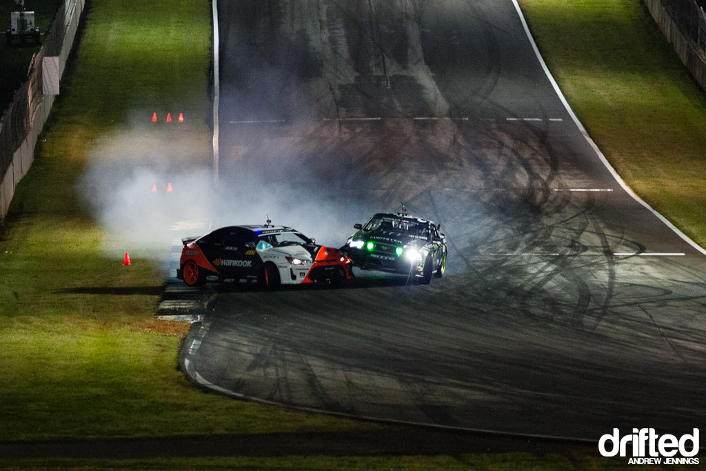 Vaughn Gittin Jr. vs. Fredric Aasbo contact