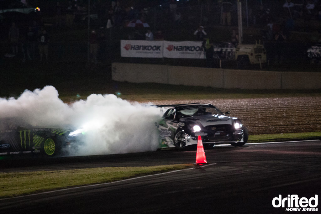 Vaughn Gittin Jr. contact with Daigo Saito