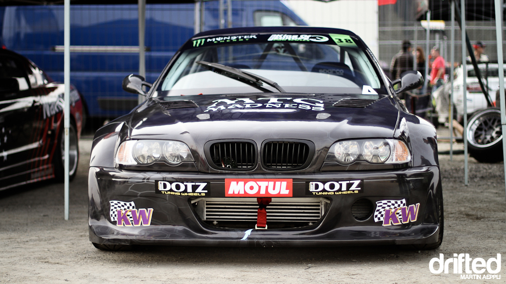 Cartu E46 in the paddock