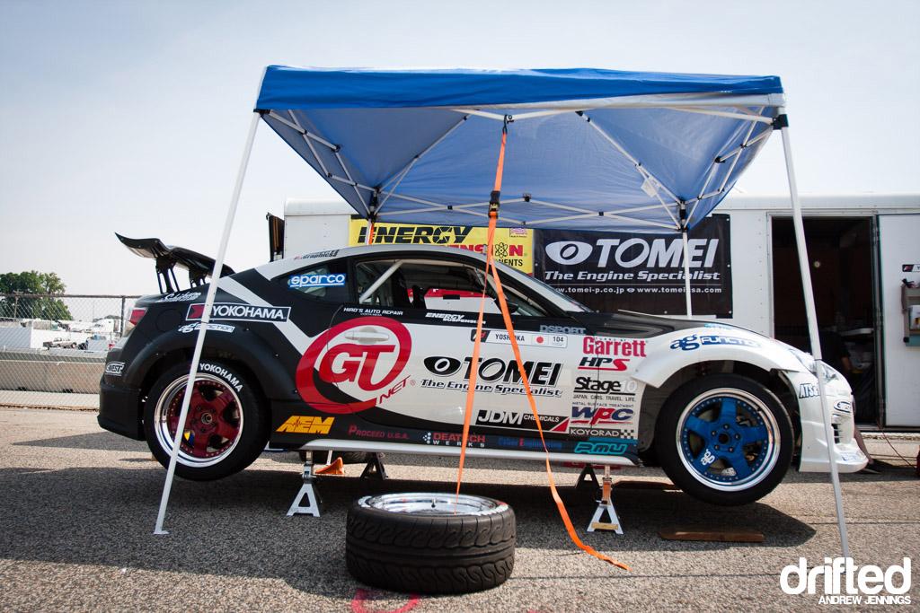 Yoshioka's GT-NET Tomei Subaru BRZ
