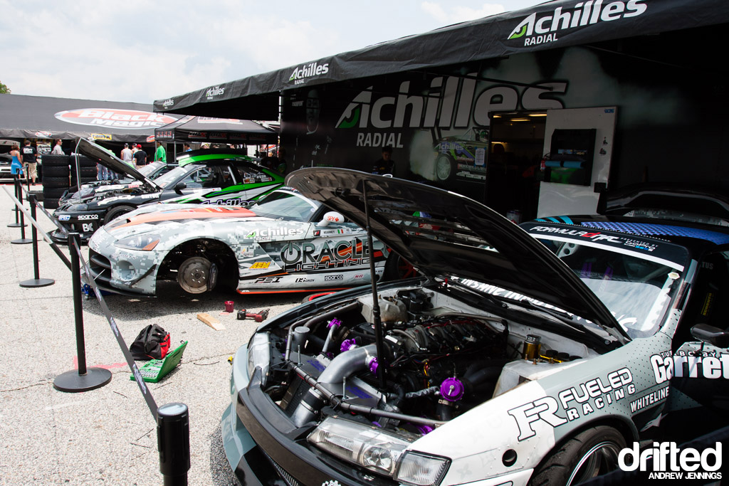 Achilles Radial Pit Area FD Road Atlanta
