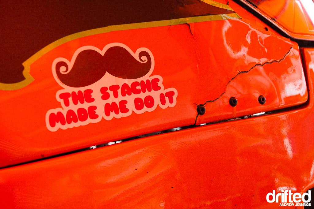 Corey Hosford mustache sticker