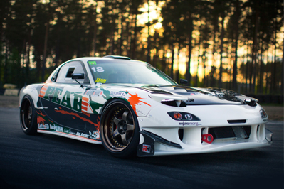 FEATURE: Waagaard's RX7 V8 Swap