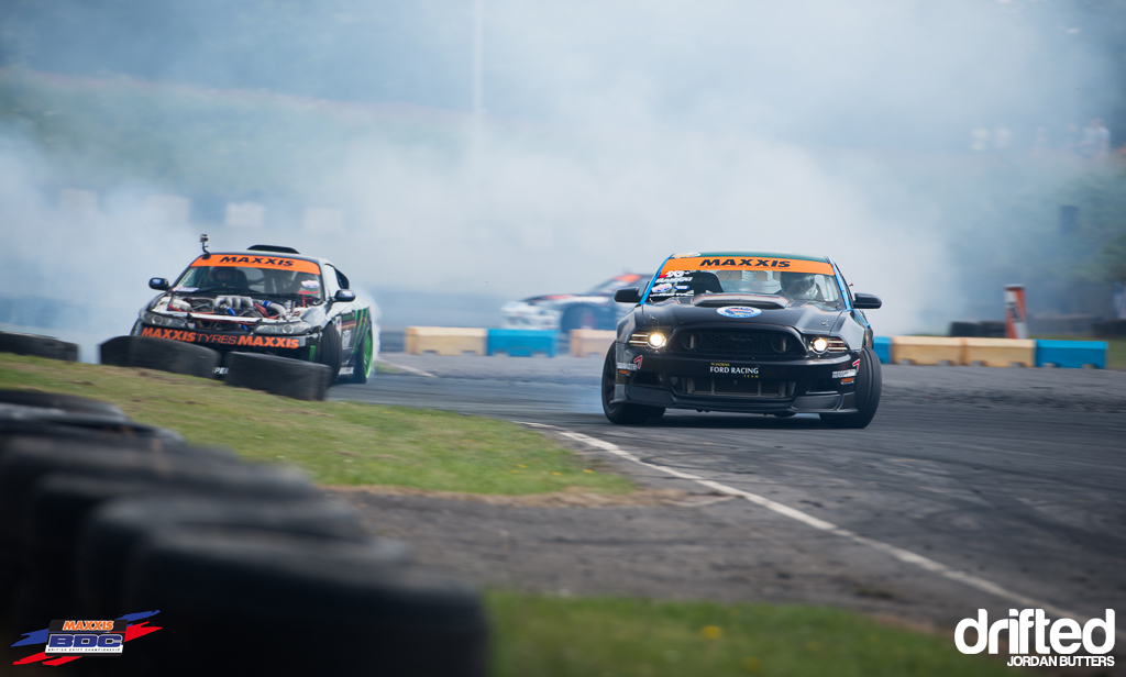 Jordan Butters BDC RD3 Mustang vs Japspeed