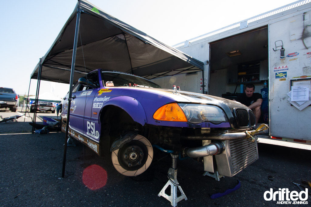 Chelsea DeNofa's BC Racing BMW