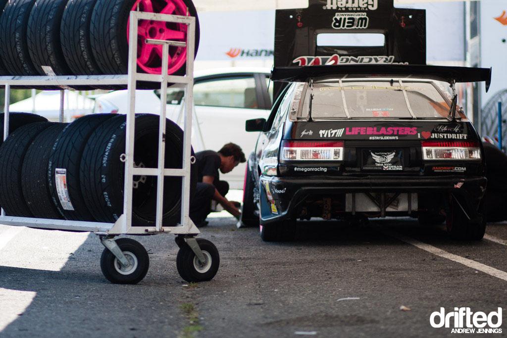 Taka Aono Megan Racing Toyota AE86