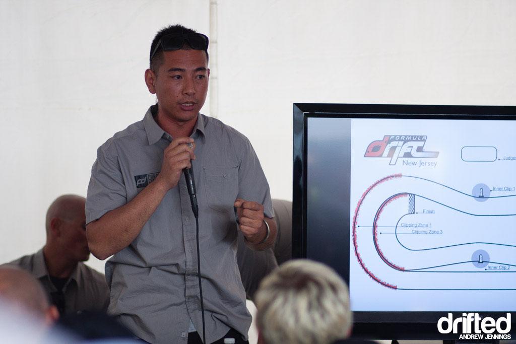 Andy Yen Formula D Judge