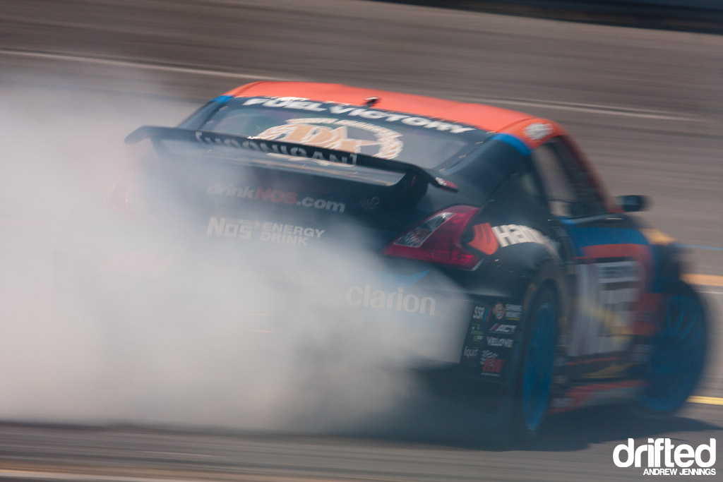 Chris Forsberg NOS Energy Nissan 370Z
