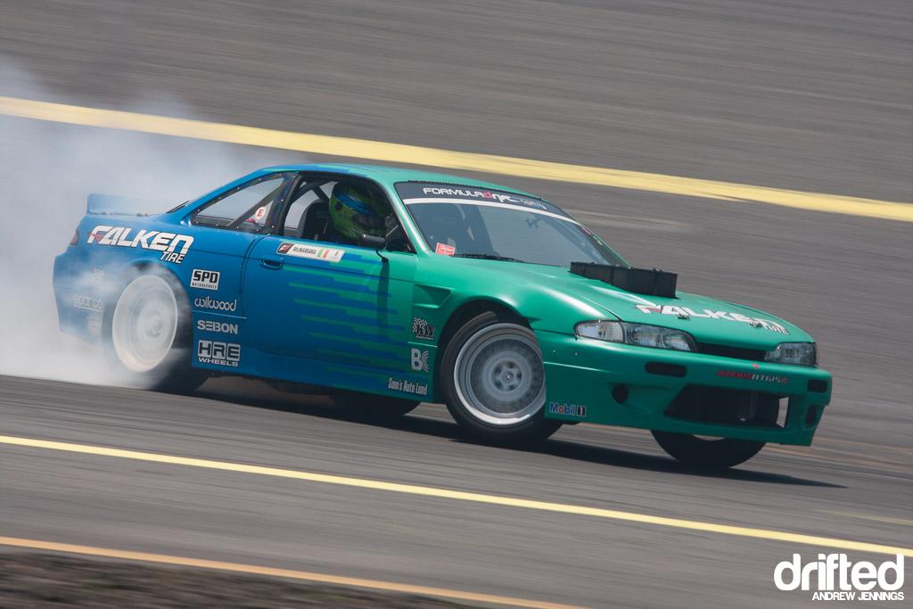 Darren McNamara Falken Tire Nissan S13